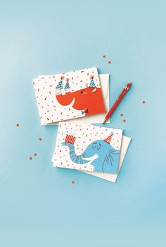 Created in collaboration with Lydia Nichols, these bright and characterful greeting cards make great children's birthday cards. They're part of our Go Wild collection. Shop online at cardnest.com #greetingcard #illustration #lettering