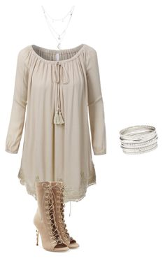 """""""Elegant"""" by laura-marina-stefan on Polyvore featuring LE3NO, Balmain and Charlotte Russe"""