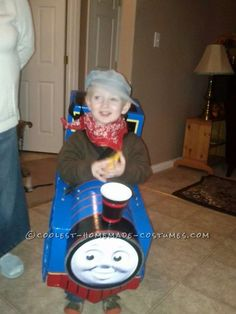 Best Thomas the Train Toddler Costume... Coolest Halloween Costume Contest