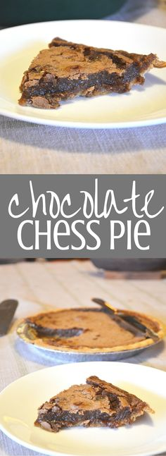 Chocolate Chess Pie. My grandmother's recipe is the BEST recipe for this southern classic that's great for birthdays, Thanksgiving, and family gatherings. Clickthrough for the full recipe and more delicious dessert ideas.