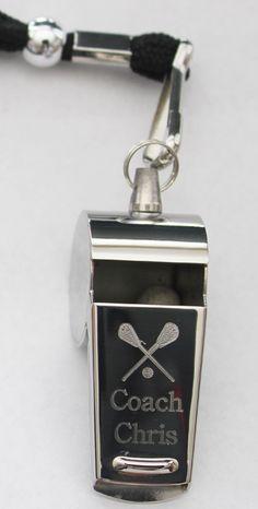 Coach Whistle-Engraved Coach Whistle