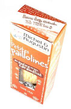 Michel & Augustin Petites Paillolines au Sucre un peu Caramelisé
