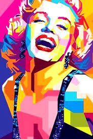 Resultado de imagen de pop art marilyn monroe