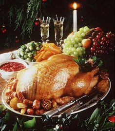 christmas dinner by a fire | After the meal we shall carry out a time honored British tradition. We ...