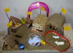 Farm animals n their home.................