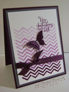 Blackberry Bliss ~ Stampin' Studio: A little hombre magic with Work of Art