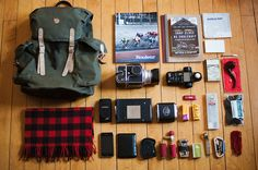 What's in your bag? #bag #camping #travel