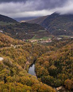 Vistas otoñales desde el mirador de Aritztokia.  ¿Te gustan? (By @yunyas / Instagram)  #Navarra