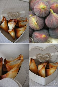 Puff pastry fig fig basil - The touch of Agathe - Toasts and vegeta . Cooking Time, Cooking Recipes, Healthy Recipes, Clean Baking Pans, Vegetarian Appetizers, Appetizer Recipes, Food For Thought, Food Inspiration, Tapas