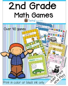 "alt=""math centers for second grade"""
