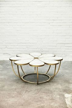 Boutonniere Coffee Table l Anthropologie