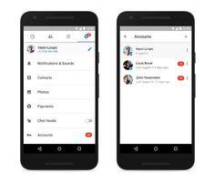 Facebook Messenger para Android ya cuenta con soporte para varias cuentas de usuario | NeanderGeek