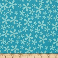 Riley Blake Twice as Nice Blooms Blue from @fabricdotcom  Designed by The Quilted Fish for Riley Blake Designs, this cotton fabric is perfect for quilting, apparel and home decor accents. Colors include shades of blue.