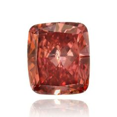 Fancy Red Color Cushion Natural Loose Diamonds 0.29cts Carat GIA Cert SI2 | Your #1 Source for Jewelry and Accessories