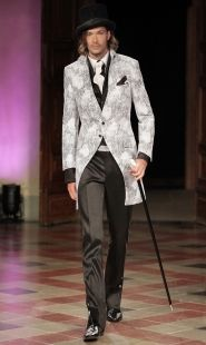 bridegroom suit, bridal gown, wedding clothes, formal wear, clothes made in Italy, made-to-measure clothes, wedding clothes - Archetipo, http://www.archetipo.com/