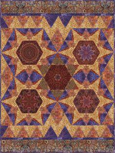 Dazzling Jewels Free Pattern: Robert Kaufman Fabric Company