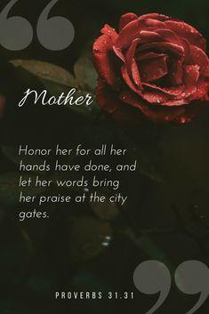 One of my favorite Bible verses on Motherhood <3
