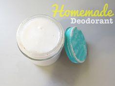 Homemade Deodorant! im making this! i can already hear you ashley!