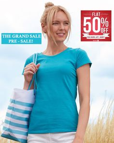 Fruit Of The #Loom Lady Fit Original #Tee - Now Enjoy up to 50% OFF!