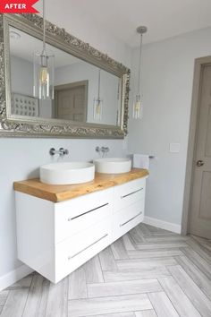 Light, Airy Modern Bathroom Renovation | Apartment Therapy