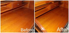 How to Fix Scratches in Your Wood Furniture 1/4 water to 3/4 olive oil rub leave on for few minutes wipe off with clean cloth may need to redo #diywoodwork Woodworking Guide, Custom Woodworking, Woodworking Projects Plans, Furniture Fix, Furniture Plans, Furniture Scratches, House Cleaning Tips, Cleaning Hacks, Good House