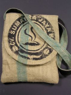 Burlap Tote by SackstoSatchels on Etsy, $45.00