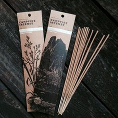 Juniper Ridge Campfire Incense. (life on the trail, mountains in a bottle, no fake fragrance, sweetgrass)