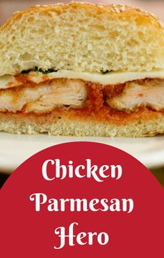 Actress Hilary Duff admitted she had never had a chicken Parm sandwich, because she figured the breaded chicken didn't need to be sandwiched between two pieces of bread. But her world was turned upside down after tasting Michael Symon's Chicken Parmesan Hero.