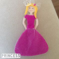 #felt #pink #pinklove #princess #love #queen #handmade #feltro #pin #like #enjoy #happy