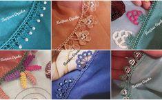 Çok Sipariş Alan Tığ İşi Oya Modelleri Hairstyle Trends, Moda Emo, Baby Knitting Patterns, Heart Charm, Bracelets, Earrings, Jewelry, Create, Fashion