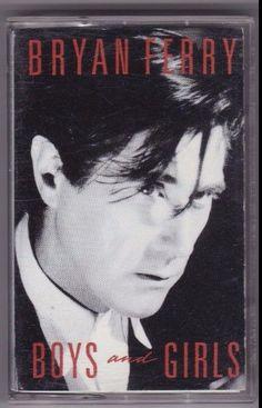 Bryan Ferry Boys And Girls Cassette (Warner Bros, 1985) #Europop