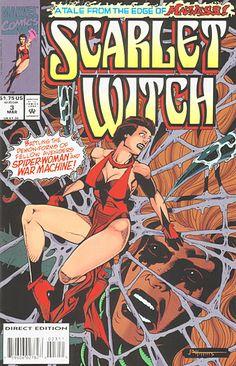 Scarlet Witch # 3 by John Higgins