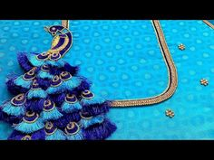 Peacock Blouse Designs, Peacock Embroidery Designs, Cutwork Blouse Designs, Peacock Design, Kurta Designs, Hand Work Blouse Design, Stylish Blouse Design, Back Neck Designs, Blouse Neck Designs
