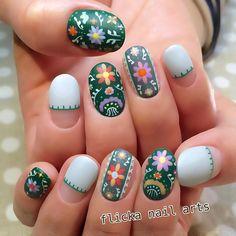Nail Art | Verde