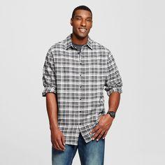 Men's Big & Tall Long Sleeve Woven Shirt