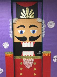 Nutcracker door cover | School decorations | Pinterest ...