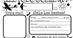 "With summer in full swing I'm looking to focus more on Spanish activities with little one.  An on-line search for an ""All About Me"" Spanish..."