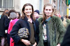 Street Style #MFW 2013 Fall