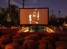 outdoor cinema #darjl #darjlmarrakech #luxuryvillas #villarentals #interiordesign #luxury #retreat #luxuryretreat #weddings #events #marrakech #morocco #luxuryhotel #luxuryhotelmarrakech #magic #design #interior #garden #park #lush #landscaped #gardendesign #swimmingpool #infinitypool #uniqueproperty #uniquegarden #architecture #lounge #lounging #activities