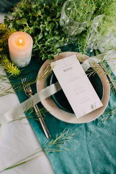 Сервировка стола. Свадьба