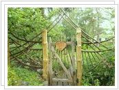 What a wonderful garden gate!