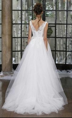 Very Romantic Looking With Lovely Lace Detail on the Back
