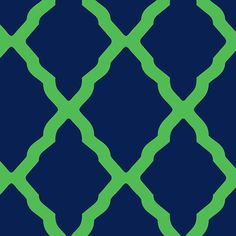 The navy lattice print is part of the Mixed Bag Designs collection of reusable bags and totes.