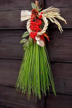 ひと葉のお正月飾り和モダン・凛