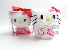 Kitty de toalla
