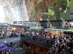 Hé de nieuwe markthal in Rotterdam