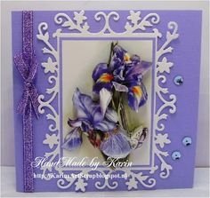 KarinsArtScrap: Iris in Purple