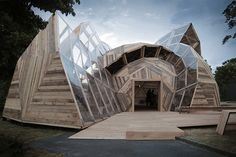 Poised For A Comeback? Danish Architects Reinvent The Geodesic Dome | News | Archinect