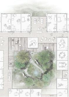 Centro de diabetes em Copenhague conecta os pacientes à natureza,Cortesia de Vilhelm Lauritzen Architects, Mikkelsen Architects e STED Landscape