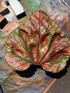 Made this leaf myself